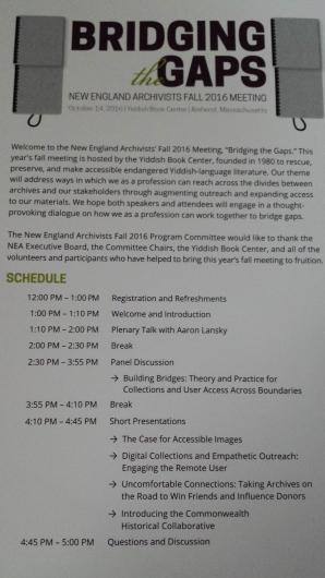 NEA Fall 2016 program 1